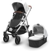 UPPAbaby VISTA 2017 Stroller with Leather Handles in Loic
