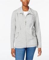 Karen Scott Petite Utility Jacket, Only at Macy's