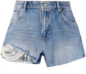 AllSaints Winnie denim shorts