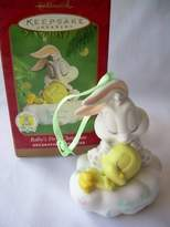 Looney Tunes 2001 Hallmark Ornament Baby's First Christmas Baby