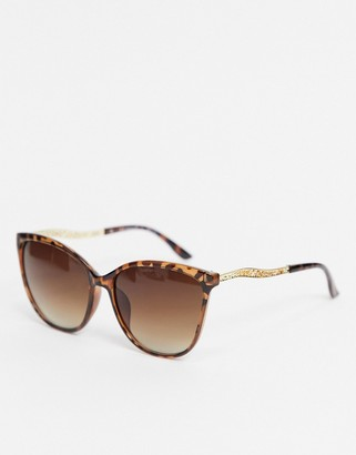 A. J. Morgan AJ Morgan sunglasses in tortoise shell