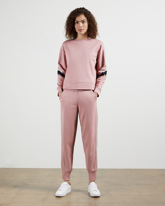 Ted Baker ALICEAH Jogger with striped trim
