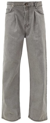 Raey Fold Dad Baggy Boyfriend Jeans - Light Grey