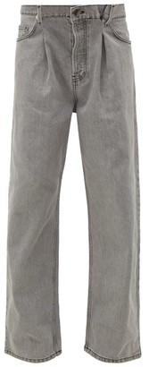 Raey Fold Dad Baggy Boyfriend Jeans - Womens - Light Grey