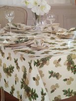 Lenox Pinecone Holiday Tablecloth