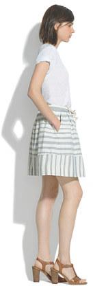 Madewell Dockstripe Skirt