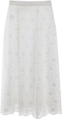 MICHAEL Michael Kors Lace Midi Skirt