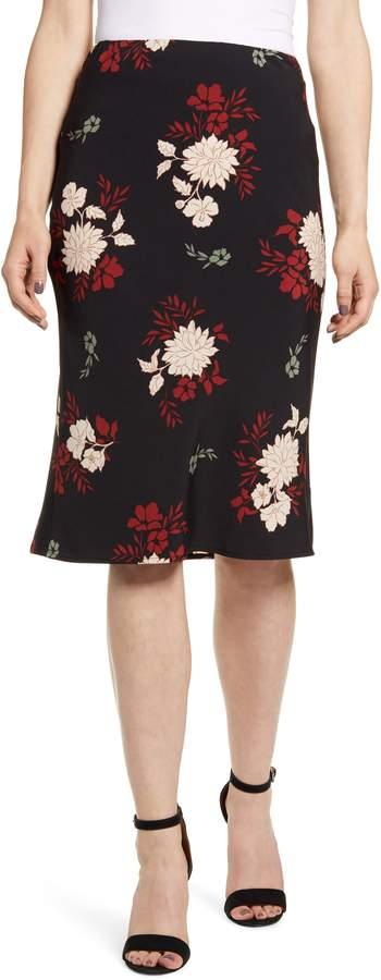 Bobeau Courtney Bias Cut Skirt