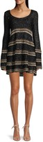Thumbnail for your product : M Missoni Wool-Blend Striped Crochet Dress