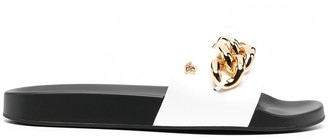 Versace chain-embellished Medusa slides