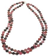 "Jay King 2-Strand Rhodonite Sterling Silver 36"" Necklace"