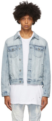 Ksubi Blue Classic Denim Jacket