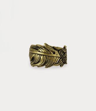 Vivienne Westwood Eugenio Ring Antique Gold-Tone