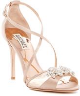 Badgley Mischka Gala Crystal Embellished Evening Sandal
