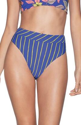 Maaji Lorelei Suzy Q Reversible High Waist Bikini Bottoms