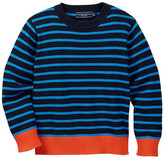 Toobydoo Colin Striped Sweater (Toddler & Little Boys)