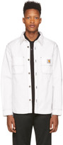 Carhartt Work In Progress White Denim Jac Shirt