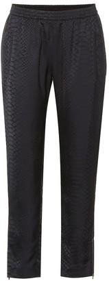 Stella McCartney Tamara cropped jacquard pants