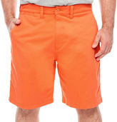 THE FOUNDRY SUPPLY CO. The Foundry Big & Tall Supply Co. Chino Shorts-Big and Tall