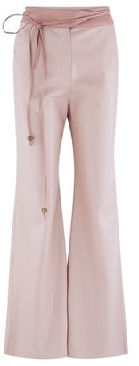 Nanushka Chimo trousers in vegan leather