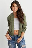 American Eagle Outfitters AE Tencel Bomber Jacket