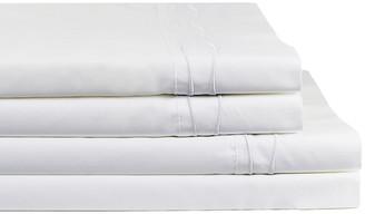 Melange Home Wavy Stripe Embroidered Sheet Set