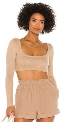 Lovers + Friends Hailee Crop Sweater