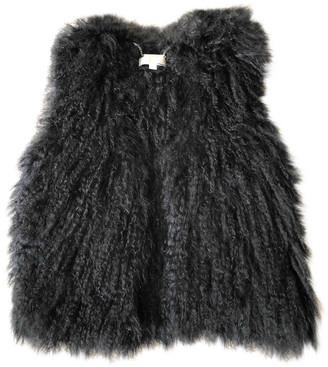 MICHAEL Michael Kors Black Shearling Jackets