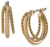 Lauren Ralph Lauren Perfect Pieces Twisted Triple-Hoop Earrings