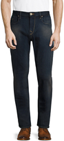 Robert Graham Men's Snapback Slim Fit Jeans
