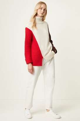 French Connenction Viola Knits High Neck Sweater