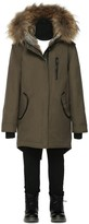 Mackage Oli-T Army Winter Parka Lined With Fur (2-6 Yrs)