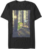 Fifth Sun Men's Tee Shirts BLACK - Legend of Zelda Black Link Forest Tee - Men