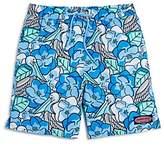 Vineyard Vines Boys' Pelican Magnolias Swim Trunks - Big Kid