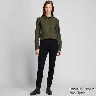 Uniqlo WOMEN High Rise Ultra Stretch Ankle Jeans