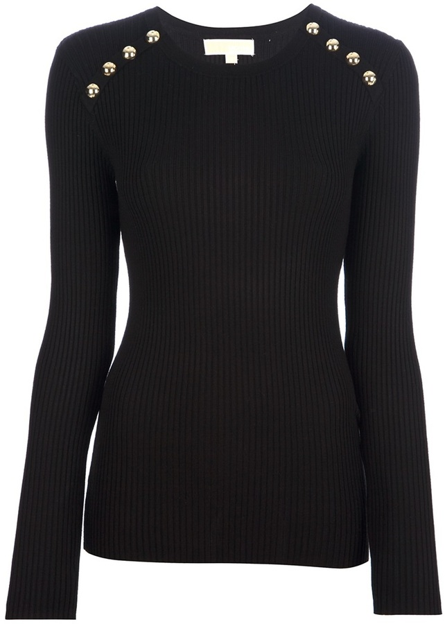 MICHAEL Michael Kors button detailed sweater