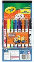 Crayola 8Ct Pip & Paper Set, Minions