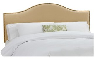 Skyline Furniture Catelynn Upholstered Headboard Size: Twin, Upholstery: Velvet Buckwheat