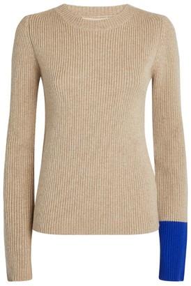 Roksanda Tavi Contrast-Cuff Sweater