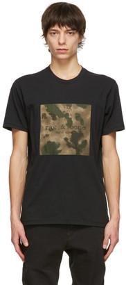 Rag & Bone Black Camo Logo T-Shirt