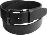 London Fog Tumbled Bridle Leather Belt (For Men)