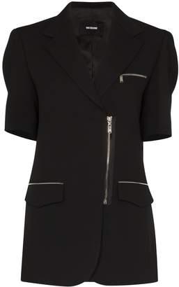 we11done short-sleeve blazer jacket