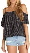 Billabong Summer Nights Cold Shoulder Top