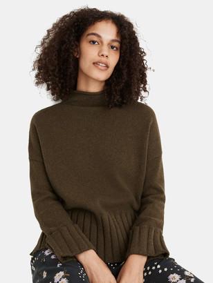 Madewell Lauren Mockneck Sweater