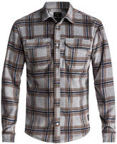 Quiksilver Men's Plaid Polar Fleece Shirt