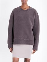 Yeezy Faded cotton-jersey sweatshirt