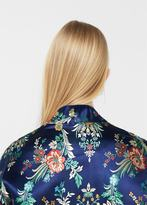 MANGO Floral embroidered kimono jacket