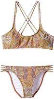 O Cozmo Multi Strap Bikini Set (Little Kids/Big Kids)