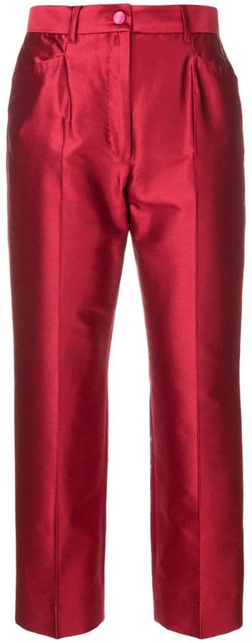 Dolce & Gabbana cropped straight trousers