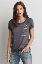 American Eagle Outfitters AE Graphic Raglan T-Shirt